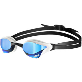 arena Cobra Core Swipe Mirror Okulary pływackie, blue/white